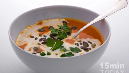 Суп-крем из тыквы – зимний и летний обед
