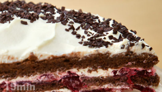 Шварцвальдский шоколадно–вишнёвый торт