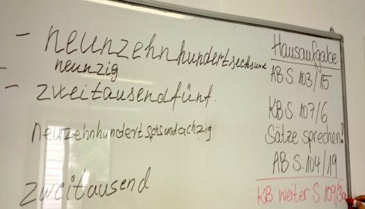 Числительные и даты по-немецки. Zahlen und Datum