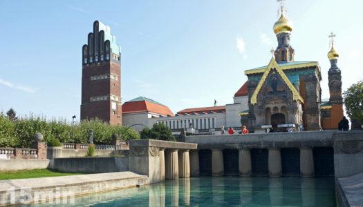 Православная церковь, построенная в Дармштадте на русской земле