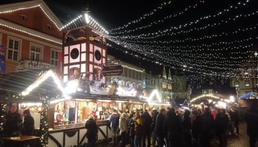 Рождественский базар в Шпайере работает до 6-го января