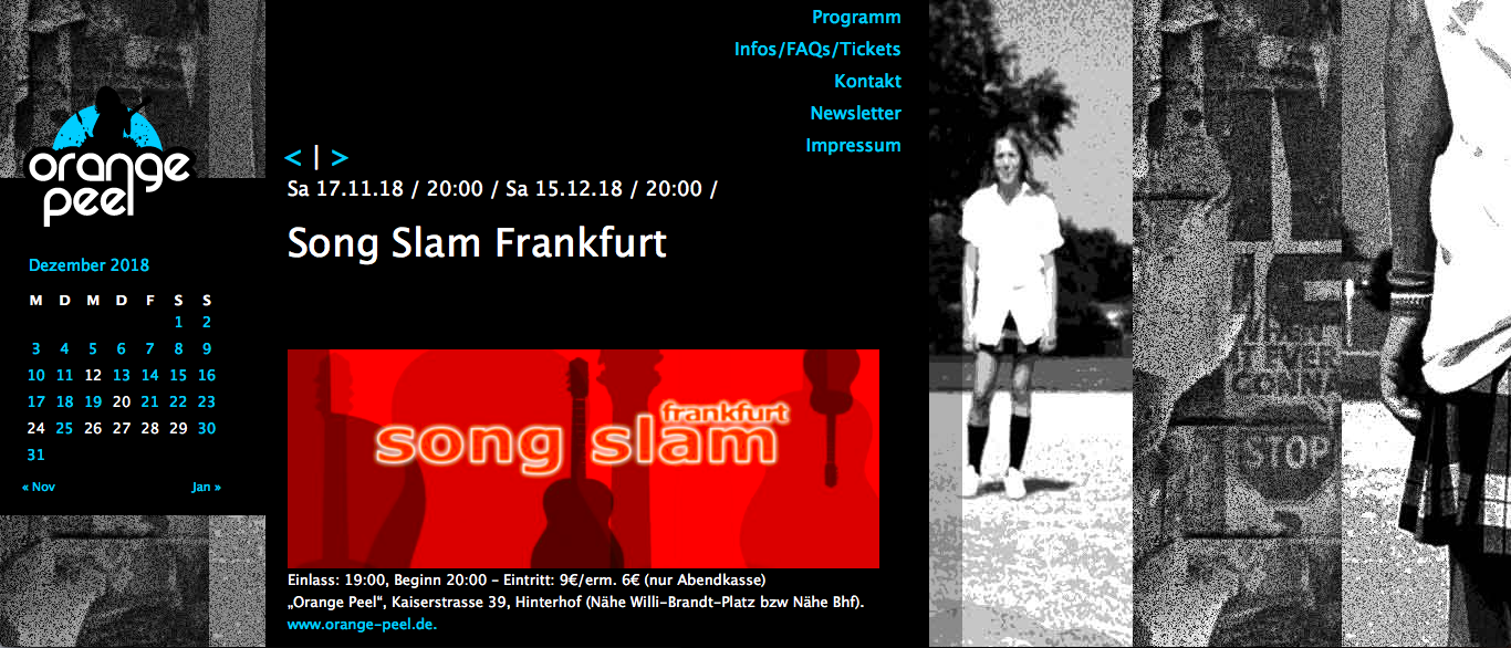 Song Slam Frankfurt