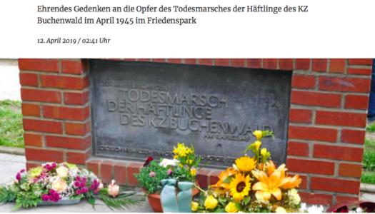День освобождения узников фашистских концлагерей