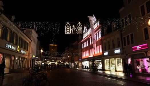 Рождественская и новогодняя ярмарка в Шпайере