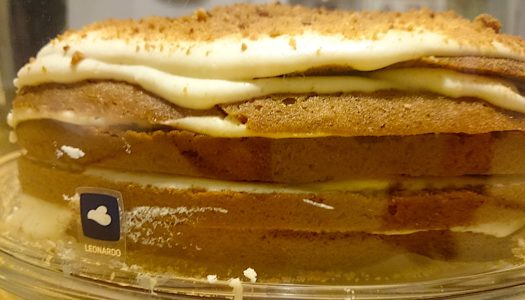 Морковный торт с корицей и сливочным сыром